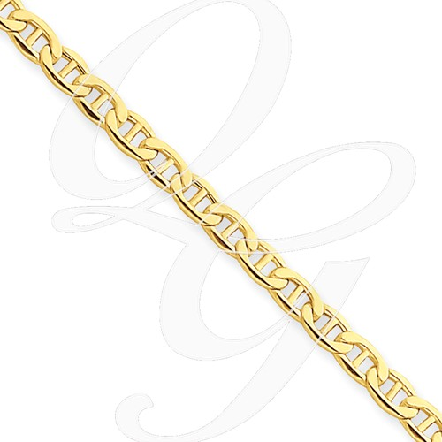 14k Yellow Gold 3.20mm Anchor Chain